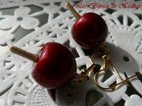 boucles d'oreille saint valentin