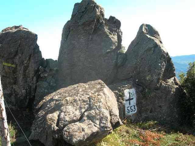 Coll de Perilló - ES-GI-1056a (Borne frontière 553)