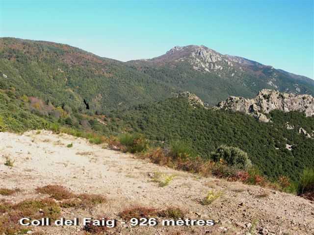 Coll del Faig - ES-GI- 926 mètres