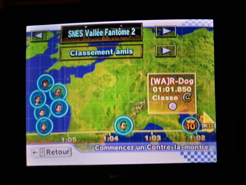 [Mario Kart Wii] Chrono Sur SNES Vallée fantome 2 091024033026491574703246