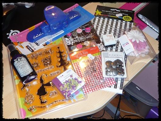 Scrap achat au salon cr ativa de nantes titval 39 s blog - Salon creativa nantes ...