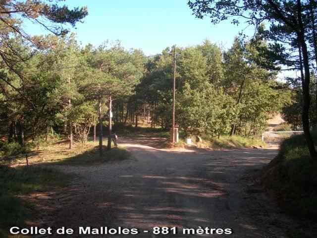 Collet de Malloles - ES-B- 881 mètres