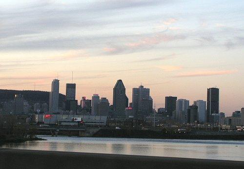 pont champlain vue montreal