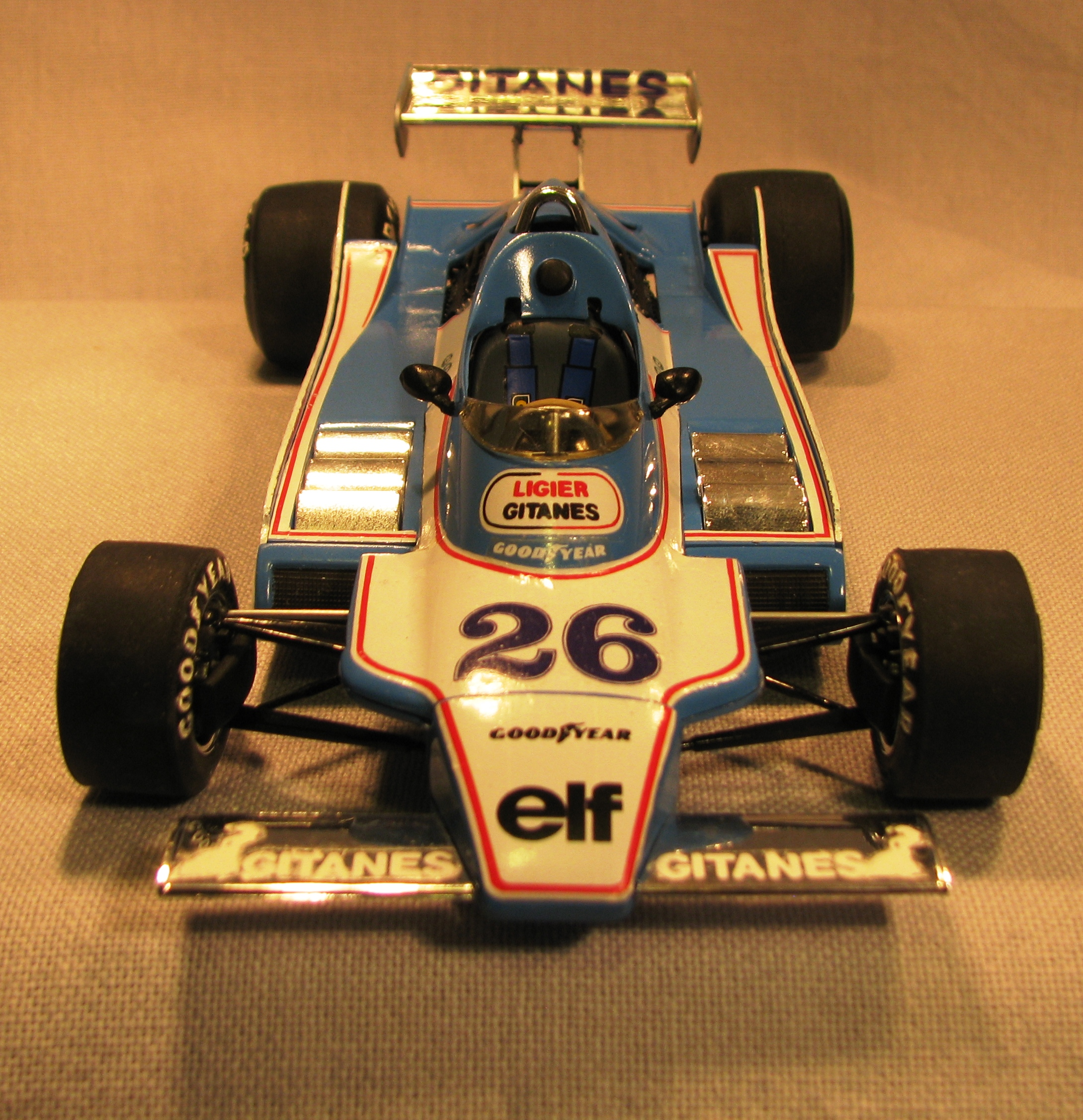 LIGIER JS 11 version GP USA