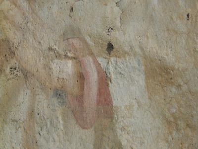 Peinture murale à la colle, consolidation couche picturale, décrassage . (sous-couche) 091112082508894654846146
