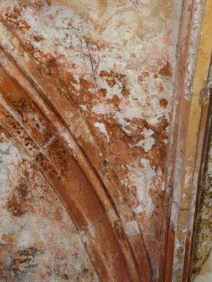 Peinture murale à la colle, consolidation couche picturale, décrassage . (sous-couche) 091113061856894654852536