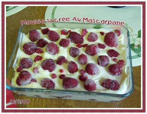 Mousse sucrée au mascarpone + photos 091116072141683834874968