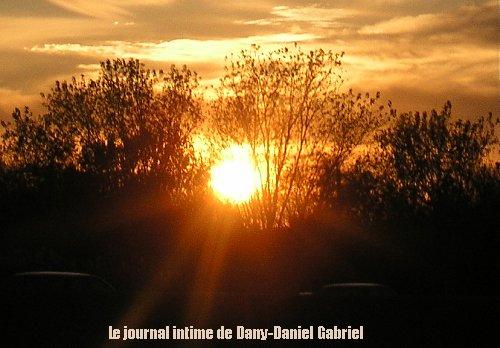 coucher soleil montreal 2 novembre 2009