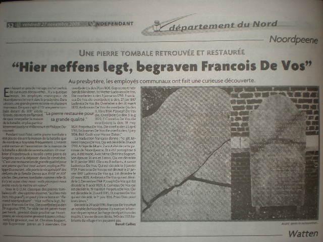 Frans-Vlaamse en oude Standaardnederlandse teksten en inscripties - Pagina 4 091130015937440054962801