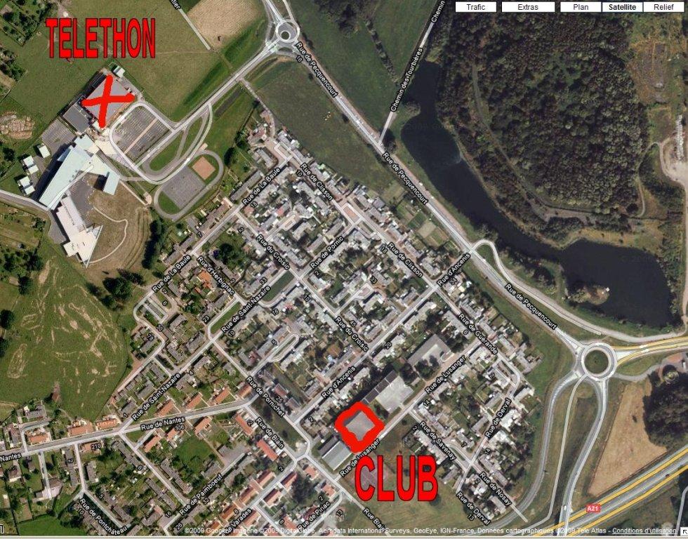 TELETHON 2010 à Lallaing - Présence du Club 091203054416675504981600