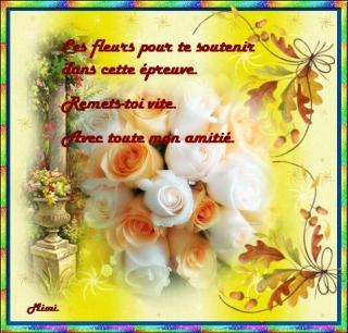 Carte virtuelle gratuite bon r tablissement selection de for Bouquet de fleurs pour un malade