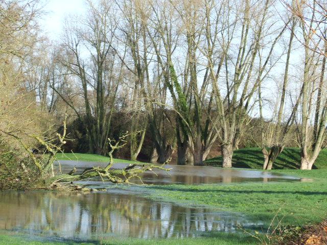 Driehoek Calais Sint-Omaars Duinkerke onder water? 091204043001440054987032