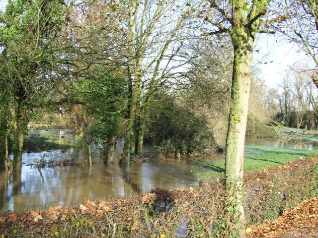 Driehoek Calais Sint-Omaars Duinkerke onder water? 091204054717440054987766