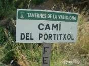Cami del Portitxol (Panneau)