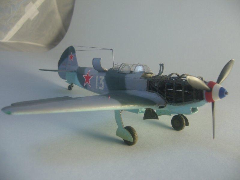 le Yak-9 de Robert Iribarne 091215092419534315062984