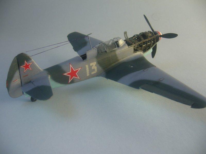 le Yak-9 de Robert Iribarne 091215092420534315062988