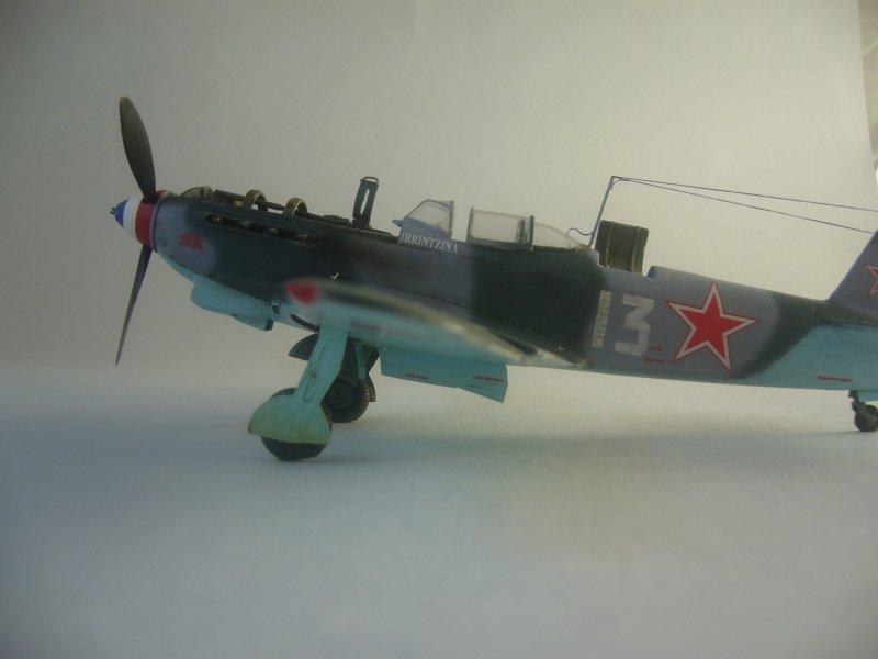 le Yak-9 de Robert Iribarne 091215092421534315062992