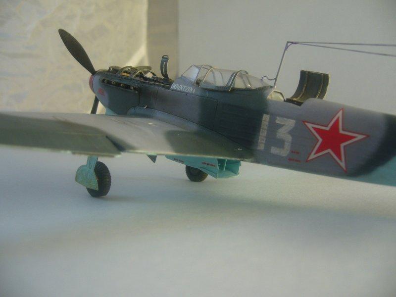 le Yak-9 de Robert Iribarne 091215092421534315062993