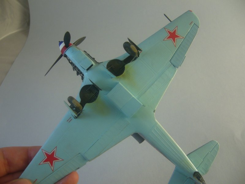 le Yak-9 de Robert Iribarne 091215092421534315062996