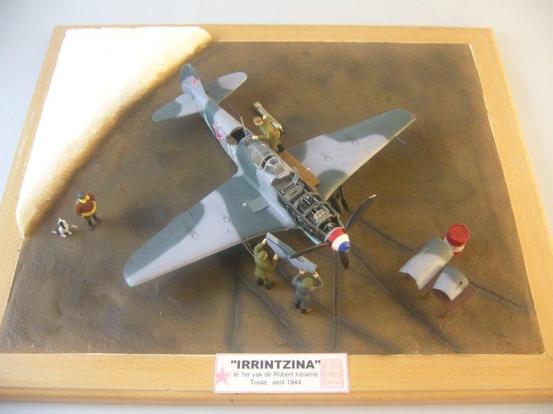 le Yak-9 de Robert Iribarne 091217095750534315076995