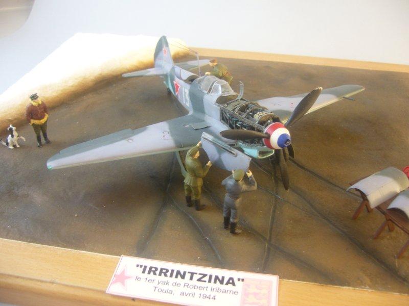 le Yak-9 de Robert Iribarne 091217095751534315076996