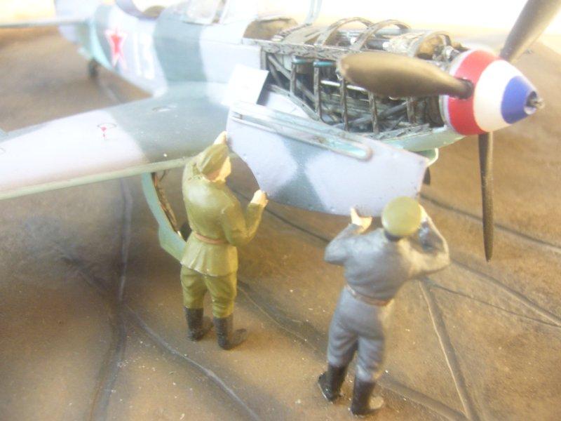le Yak-9 de Robert Iribarne 091217095751534315076997
