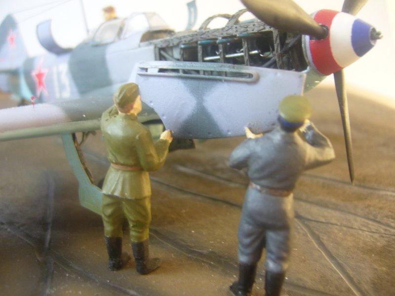 le Yak-9 de Robert Iribarne 091217095751534315076999