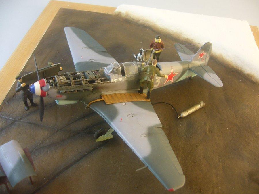 le Yak-9 de Robert Iribarne 091217095754534315077004