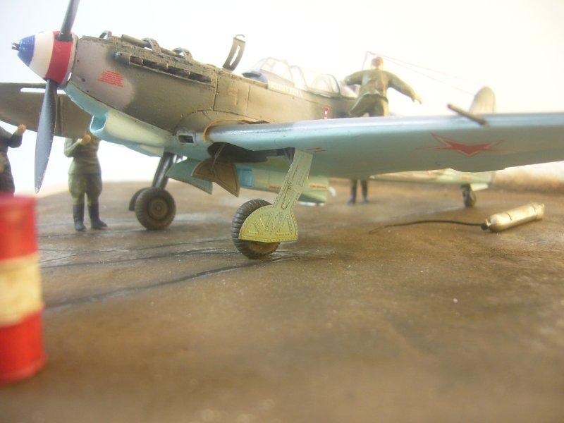 le Yak-9 de Robert Iribarne 091217095756534315077007