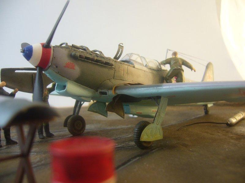 le Yak-9 de Robert Iribarne 091217095756534315077008