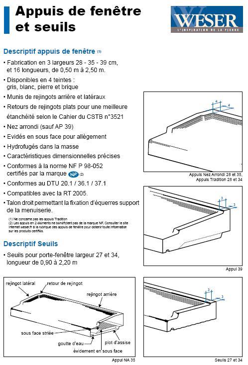 Besoin d 39 aide concernant la pose de baie coulissante alu for Poser un appui de fenetre prefabrique