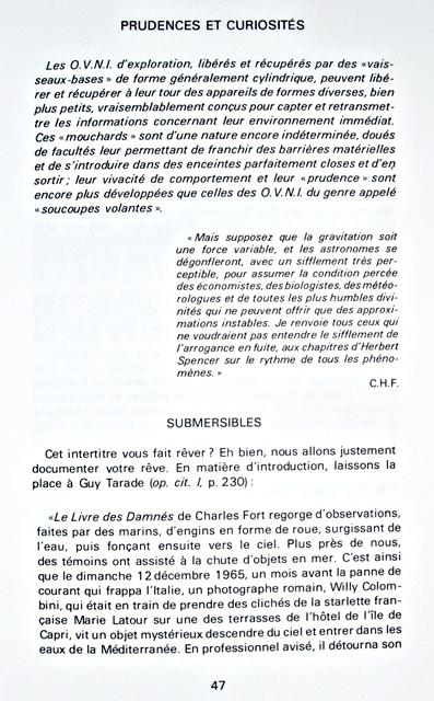 (1976) Les dossiers des o.v.n.i. par Henry Durrant 091221042244927775102583