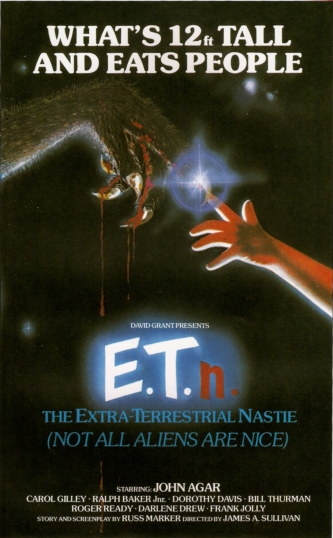 E.T.N.: The Extraterrestrial Nastie Film Poster