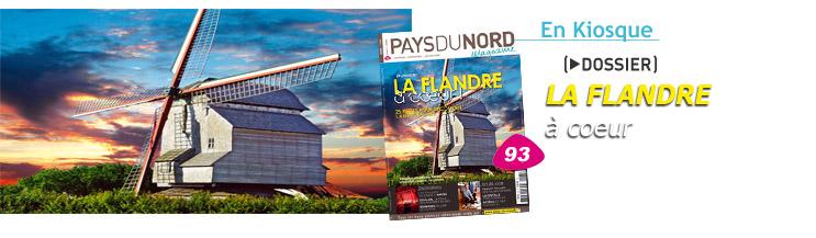 """Tijdschrift Pays du Nord : """"La Flandre à coeur"""" 100104031929440055179544"""