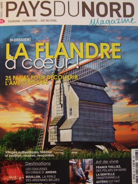 """Tijdschrift Pays du Nord : """"La Flandre à coeur"""" 100104031953440055179554"""