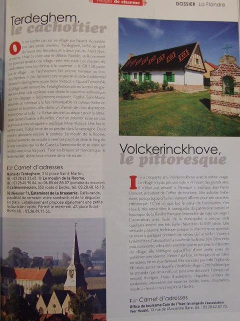 """Tijdschrift Pays du Nord : """"La Flandre à coeur"""" 100104032020440055179562"""