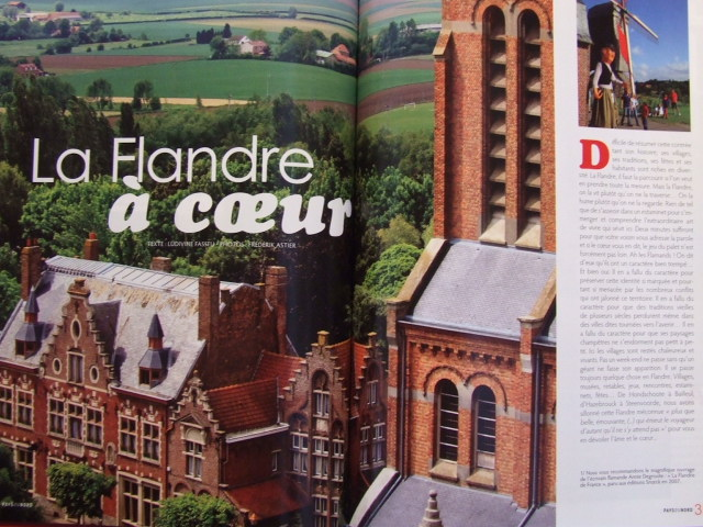 """Tijdschrift Pays du Nord : """"La Flandre à coeur"""" 100104032216440055179584"""