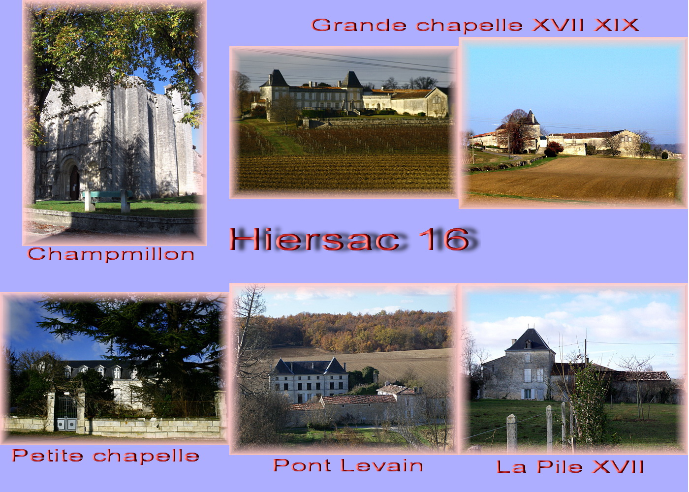 carte charente - 16 cog Hiersac 1