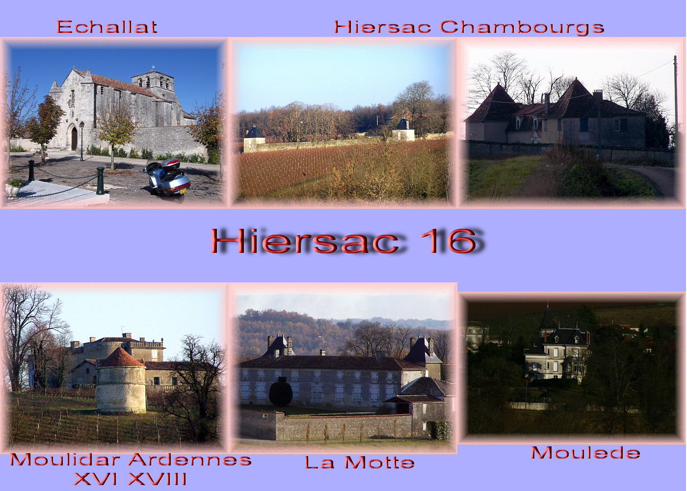 carte charente - 16 cog Hiersac 3