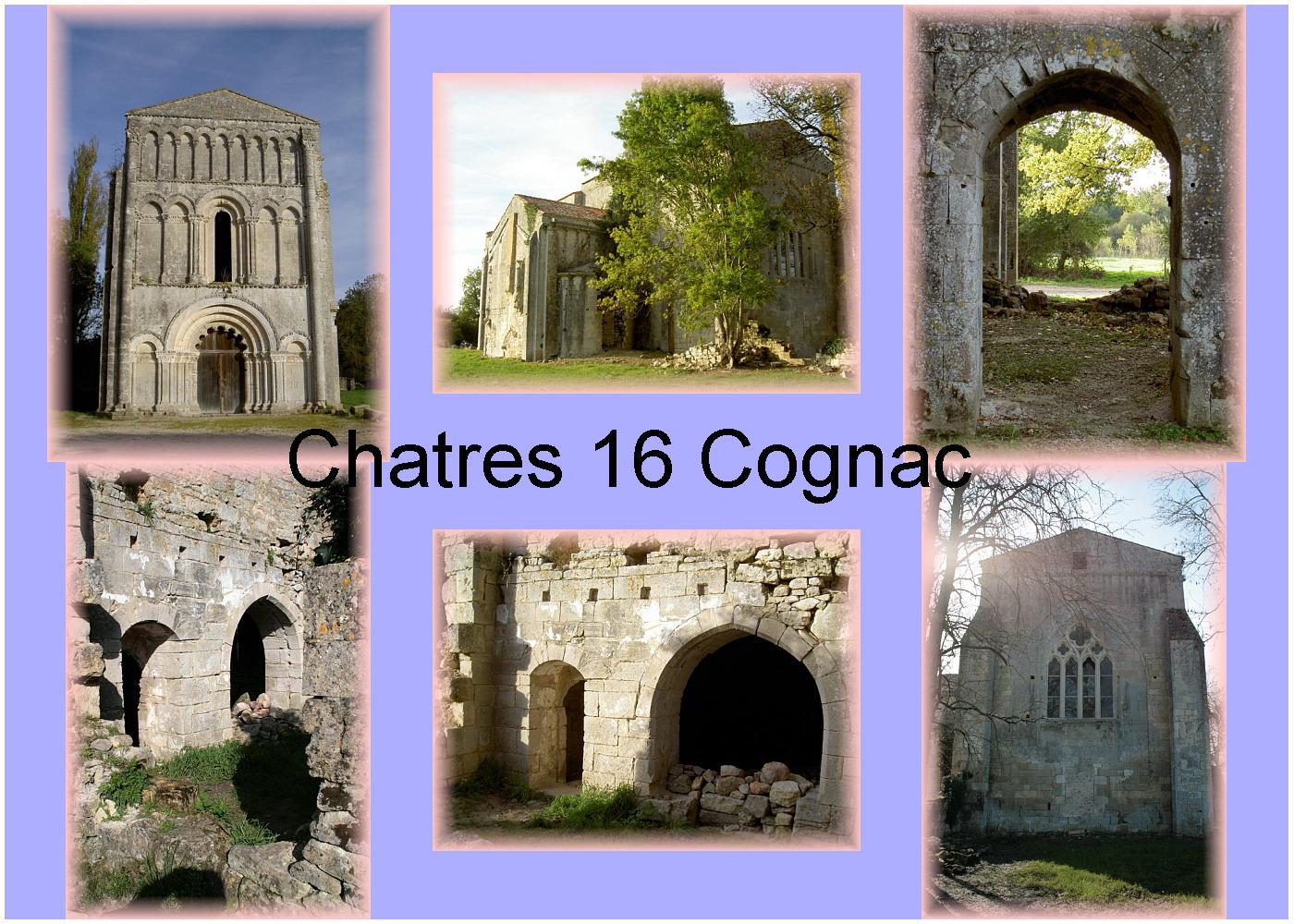 carte charente - 16 cog cognac chatres