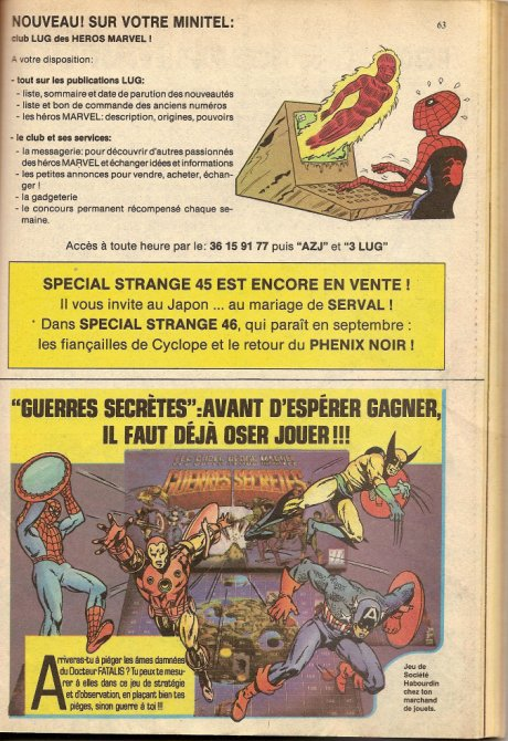SECRET WARS/Guerres secrètes (Mattel) 1984 - Page 4 100106111304668845199115