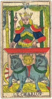 "La carte du tarot ""Le Chariot"" 100109064132385005216811"