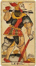 "La carte du tarot ""Le Mat"" 100109064133385005216817"