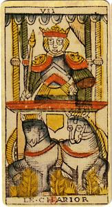 "La carte du tarot ""Le Chariot"" 100109081545385005217444"