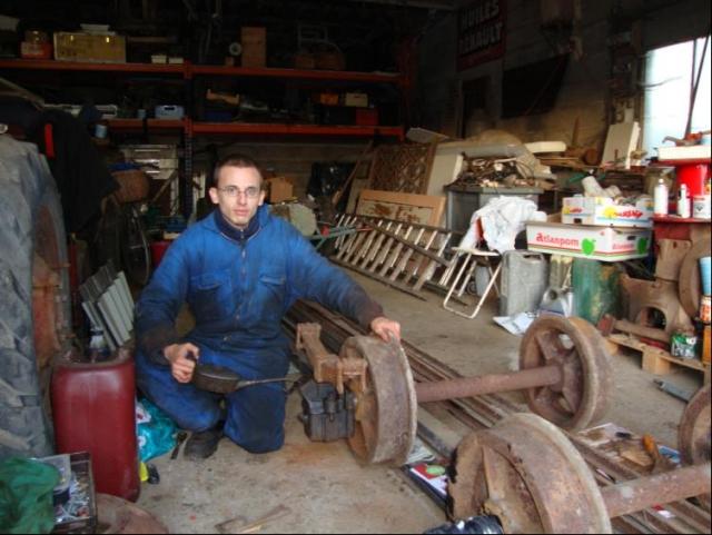 Restaurierung eines Wagens der Inspektion eines forstwirtschaftlichen Betriebes - Seite 2 100109123418278125213841