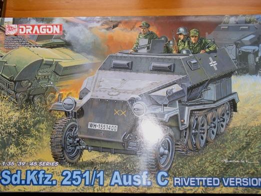 sdkfz 251/1 c riveté Dragon 1/35 100114023415667015245833
