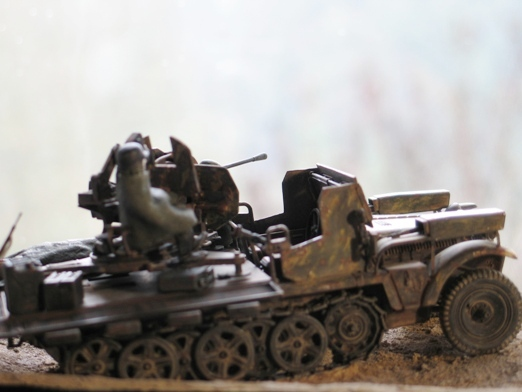 sdkfz 10/5 flak38 Revell 1/35 100114122451667015243387
