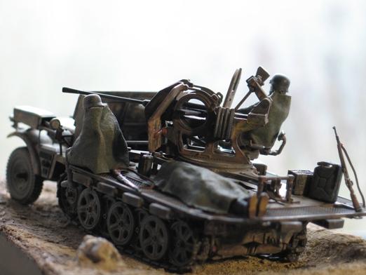 sdkfz 10/5 flak38 Revell 1/35 100114122514667015243389