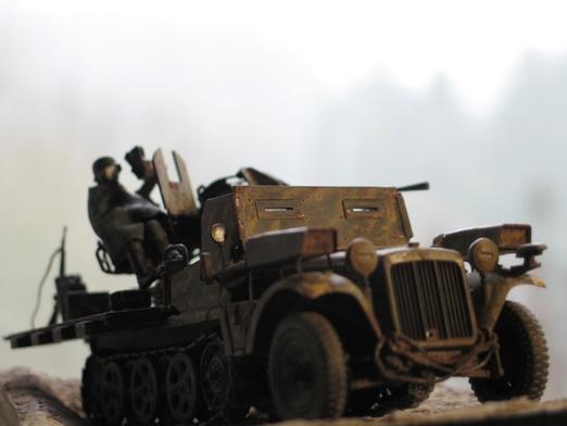 sdkfz 10/5 flak38 Revell 1/35 100114122536667015243391