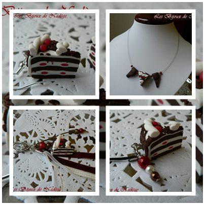 bijoux gâteau forêt noire
